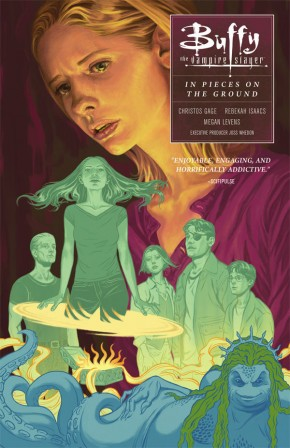 BUFFY THE VAMPIRE SLAYER SEASON 10 VOLUME 5 PIECES ON THE GROUND GRAPHIC NOVEL