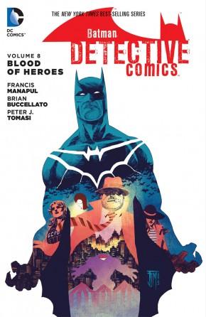 BATMAN DETECTIVE COMICS VOLUME 8 BLOOD OF HEROES HARDCOVER