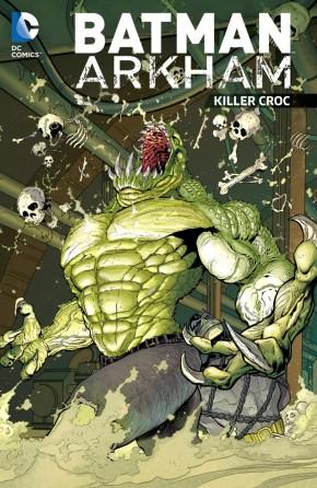 BATMAN ARKHAM KILLER CROC GRAPHIC NOVEL
