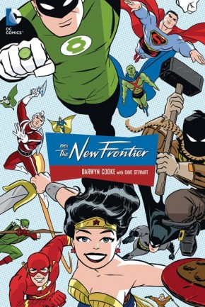 DC THE NEW FRONTIER GRAPHIC NOVEL