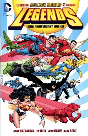 LEGENDS 30TH ANNIVERSARY EDITION GRAPHIC NOVEL