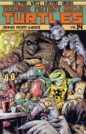 TEENAGE MUTANT NINJA TURTLES VOLUME 14 ORDER FROM CHAOS GRAPHIC NOVEL