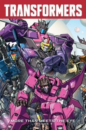 TRANSFORMERS MORE THAN MEETS THE EYE VOLUME 9 GRAPHIC NOVEL