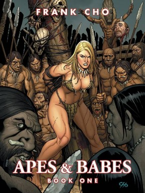 APES AND BABES BY FRANK CHO GRAPHIC NOVEL