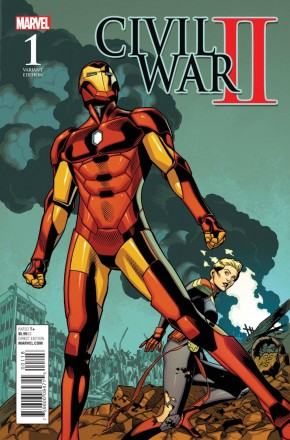 CIVIL WAR II #1 BATTLE 1 IN 15 VARIANT