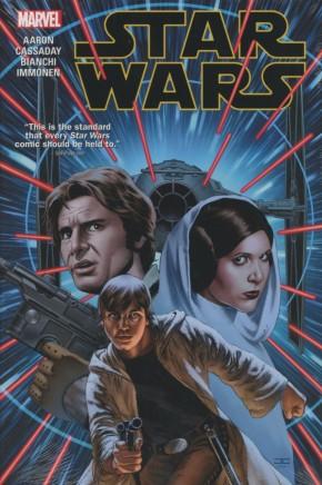 STAR WARS VOLUME 1 HARDCOVER CASSADAY COVER