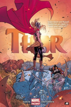 THOR BY JASON AARON AND RUSSELL DAUTERMAN VOLUME 1 HARDCOVER