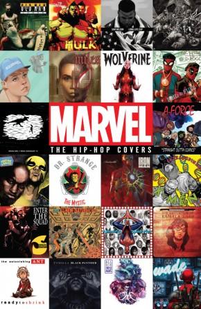 MARVEL HIP HOP COVERS VOLUME 1 HARDCOVER