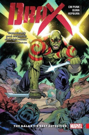 DRAX VOLUME 1 GALAXYS BEST DETECTIVE GRAPHIC NOVEL