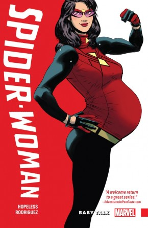 SPIDER-WOMAN SHIFTING GEARS VOLUME 1 BABY TALK GRAPHIC NOVEL