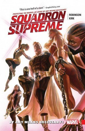 SQUADRON SUPREME VOLUME 1 BY ANY MEANS NECESSARY GRAPHIC NOVEL