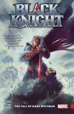 BLACK KNIGHT THE FALL OF DANE WHITMAN GRAPHIC NOVEL