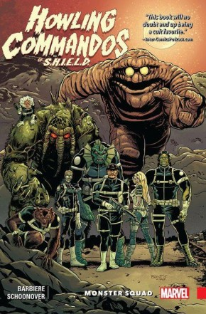 HOWLING COMMANDOS OF SHIELD MONSTER SQUAD GRAPHIC NOVEL