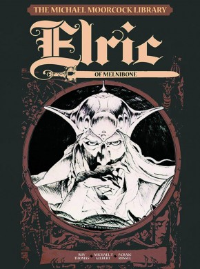 MOORCOCK VOLUME 1 ELRIC MELNIBONE LIBRARY EDITION HARDCOVER