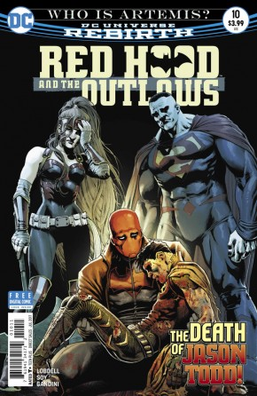 RED HOOD AND THE OUTLAWS #10 (2016 SERIES)