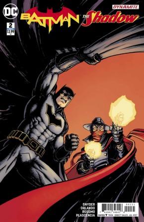 BATMAN THE SHADOW #2 (BURNHAM VARIANT COVER)