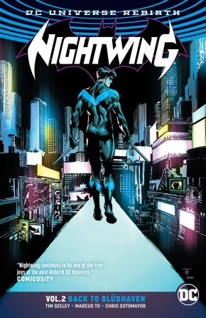 NIGHTWING VOLUME 2 BACK TO BLUDHAVEN GRAPHIC NOVEL
