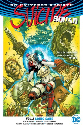 SUICIDE SQUAD VOLUME 2 GOING SANE GRAPHIC NOVEL