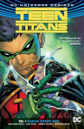 TEEN TITANS VOLUME 1 DAMIAN KNOWS BEST GRAPHIC NOVEL