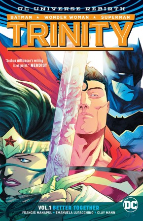 TRINITY VOLUME 1 BETTER TOGETHER HARDCOVER