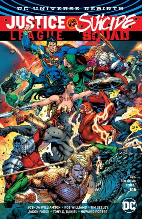 JUSTICE LEAGUE VS SUICIDE SQUAD HARDCOVER