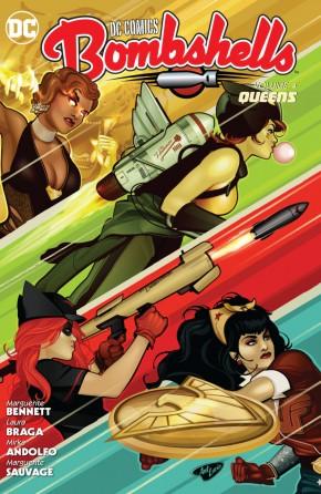 DC COMICS BOMBSHELLS VOLUME 4 QUEENS GRAPHIC NOVEL