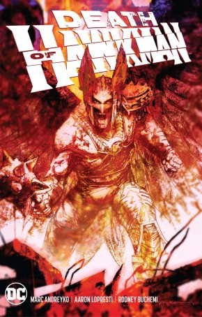 DEATH OF HAWKMAN GRAPHIC NOVEL