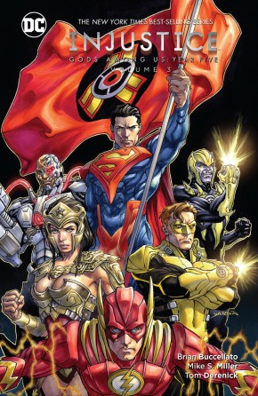 INJUSTICE GODS AMONG US YEAR FIVE VOLUME 3 HARDCOVER