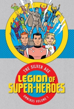 LEGION OF SUPER HEROES SILVER AGE OMNIBUS VOLUME 1 HARDCOVER