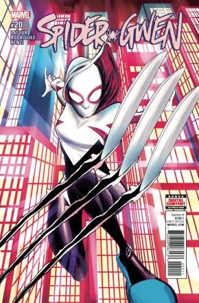 SPIDER-GWEN #20 (2015b SERIES)