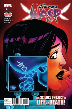 UNSTOPPABLE WASP #5 (2017 SERIES)