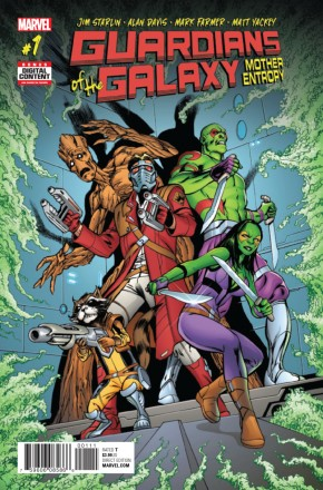 GUARDIANS OF THE GALAXY MOTHER ENTROPY #1