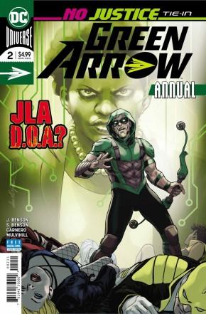 GREEN ARROW ANNUAL #2 (2016 SERIES)