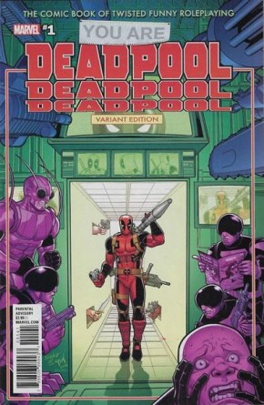 YOU ARE DEADPOOL #1 ESPIN RPG VARIANT