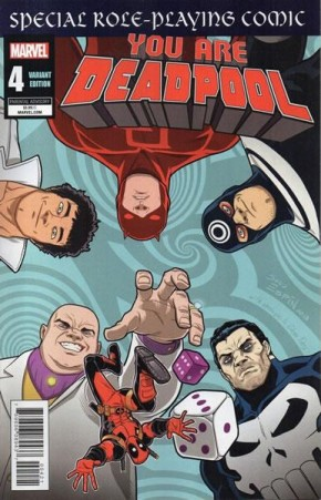YOU ARE DEADPOOL #4 ESPIN RPG VARIANT