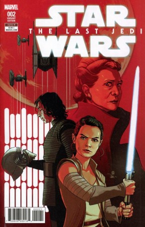 STAR WARS LAST JEDI ADAPTATION #2 WALSH 1 IN 25 INCENTIVE VARIANT