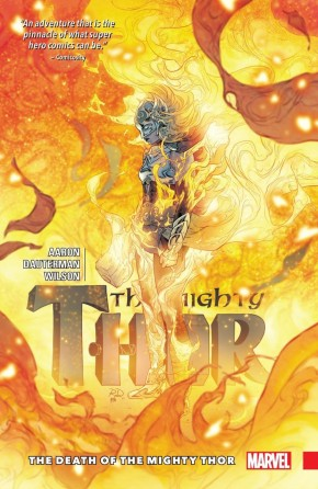 MIGHTY THOR VOLUME 5 THE DEATH OF THE MIGHTY THOR HARDCOVER
