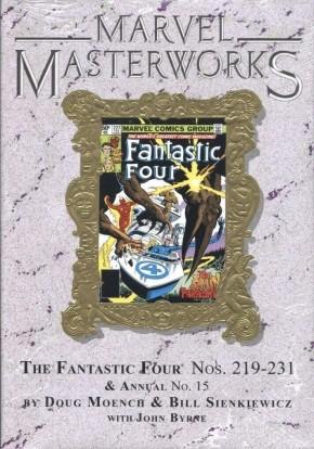 MARVEL MASTERWORKS FANTASTIC FOUR VOLUME 20 DM VARIANT #264 EDITION HARDCOVER