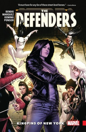DEFENDERS VOLUME 2 KINGPINS OF NEW YORK GRAPHIC NOVEL