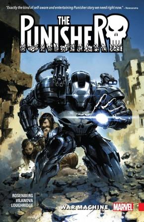 PUNISHER WAR MACHINE VOLUME 1 GRAPHIC NOVEL