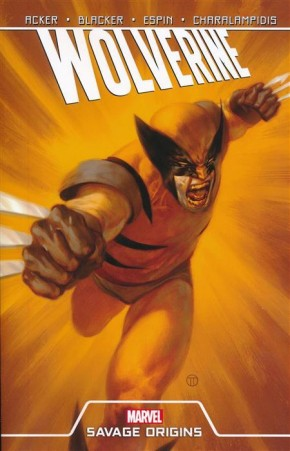 WOLVERINE SAVAGE ORIGINS GRAPHIC NOVEL