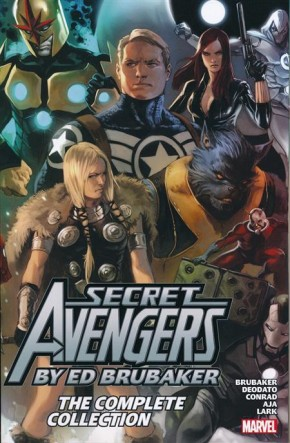 SECRET AVENGERS BY ED BRUBAKER COMPLETE COLLECTION GRAPHIC NOVEL