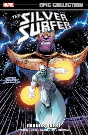 SILVER SURFER EPIC COLLECTION THANOS QUEST GRAPHIC NOVEL