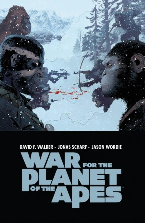 WAR FOR PLANET OF THE APES GRAPHIC NOVEL