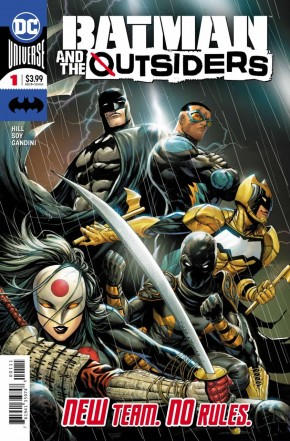 BATMAN AND THE OUTSIDERS #1 (2019 SERIES)
