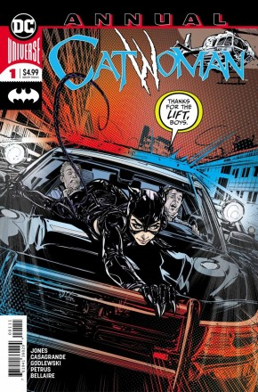 CATWOMAN ANNUAL #1 (2018 SERIES)