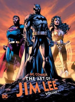 DC COMICS THE ART OF JIM LEE VOLUME 1 HARDCOVER