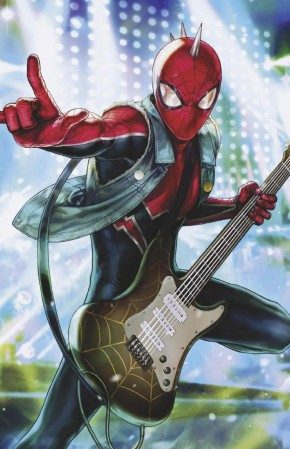 AMAZING SPIDER-MAN #22 (2018 SERIES) HEEJIN JEON MARVEL BATTLE LINES VARIANT