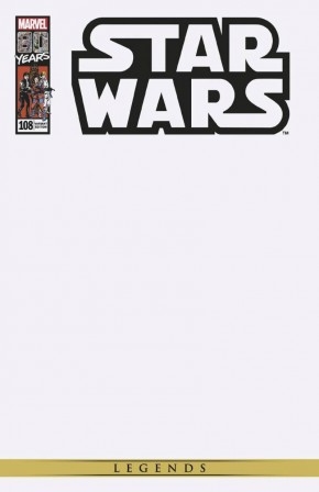 STAR WARS ORIGINAL MARVEL YEARS #108 BLANK VARIANT