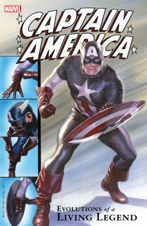 CAPTAIN AMERICA EVOLUTIONS OF A LIVING LEGEND GRAPHIC NOVEL